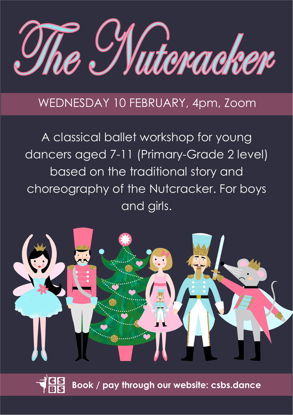 Picture of Nutcracker ballet workshop