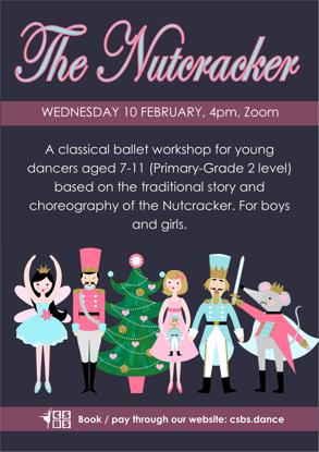 Picture of Nutcracker ballet workshop