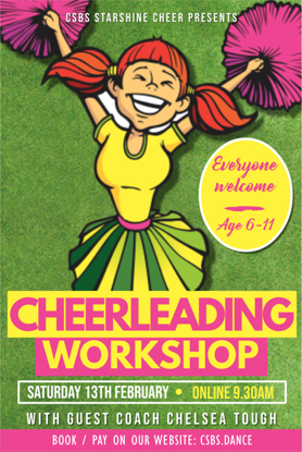 Picture of Cheer workshop Mini-Youth