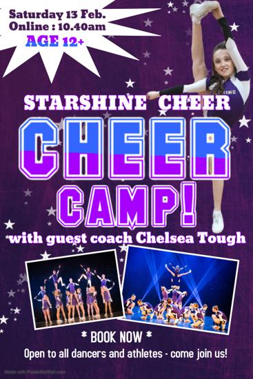 Picture of Cheer workshop Junior-Senior