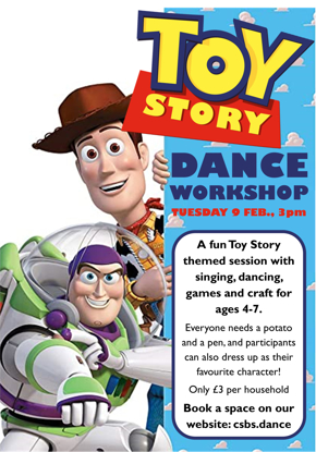 Picture of Toy Story Workshop