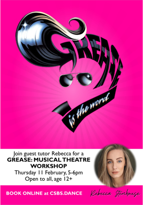 Picture of Grease musical theatre workshop