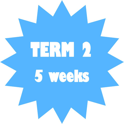 Picture of TERM 2 - 5 weeks