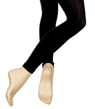 Picture of Black Footless Tights